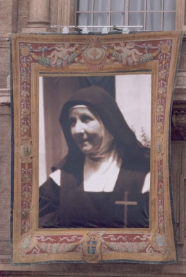 Madre Maria Candida in Piazza San Pietro
